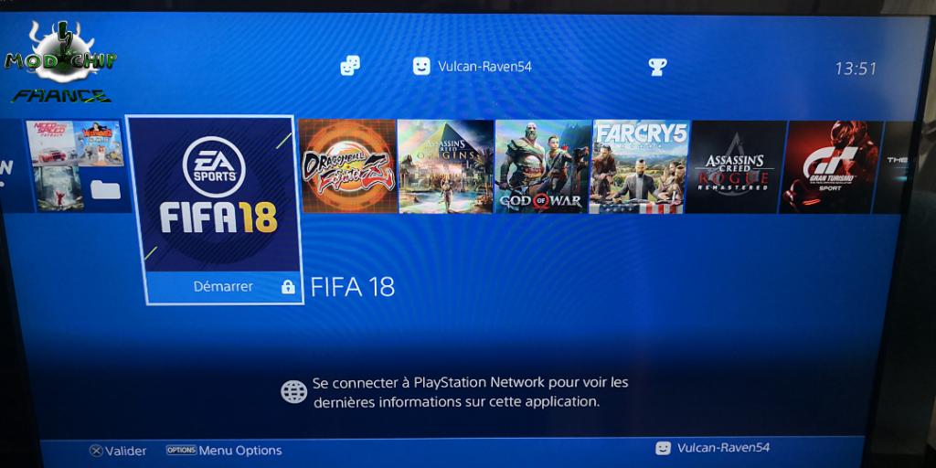 Menu PS4 hack
