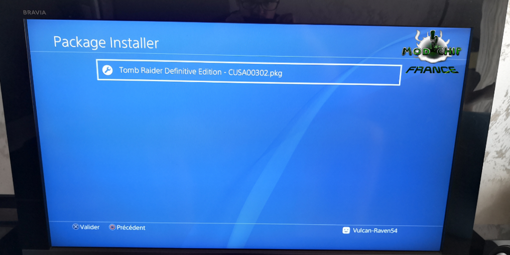 Install Game PS4 hack pkg