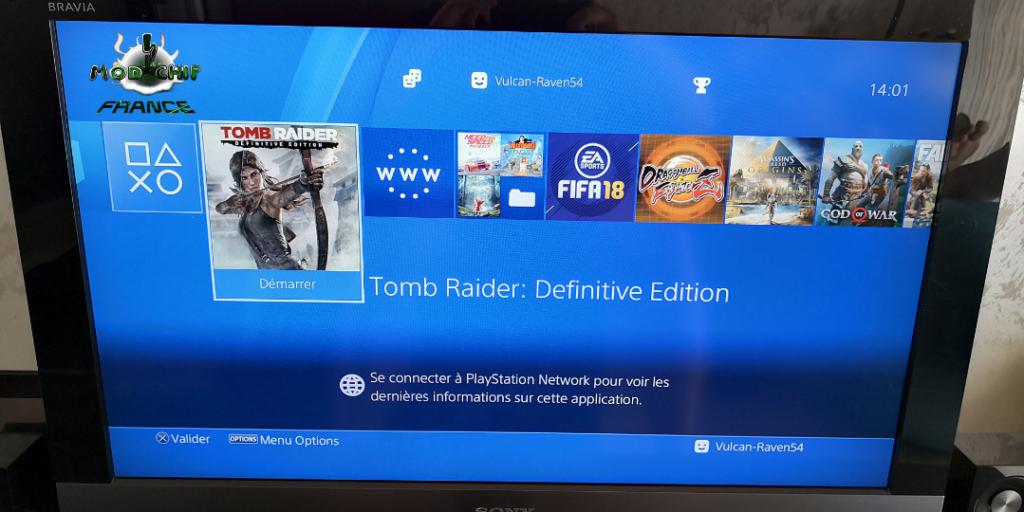 Menu PS4 hack final