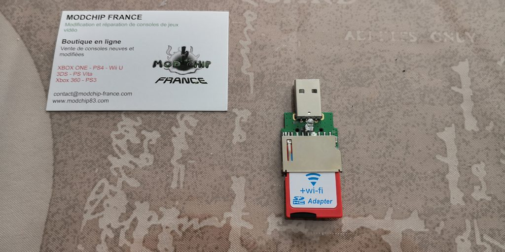 Carte SD WiFi hack PS4