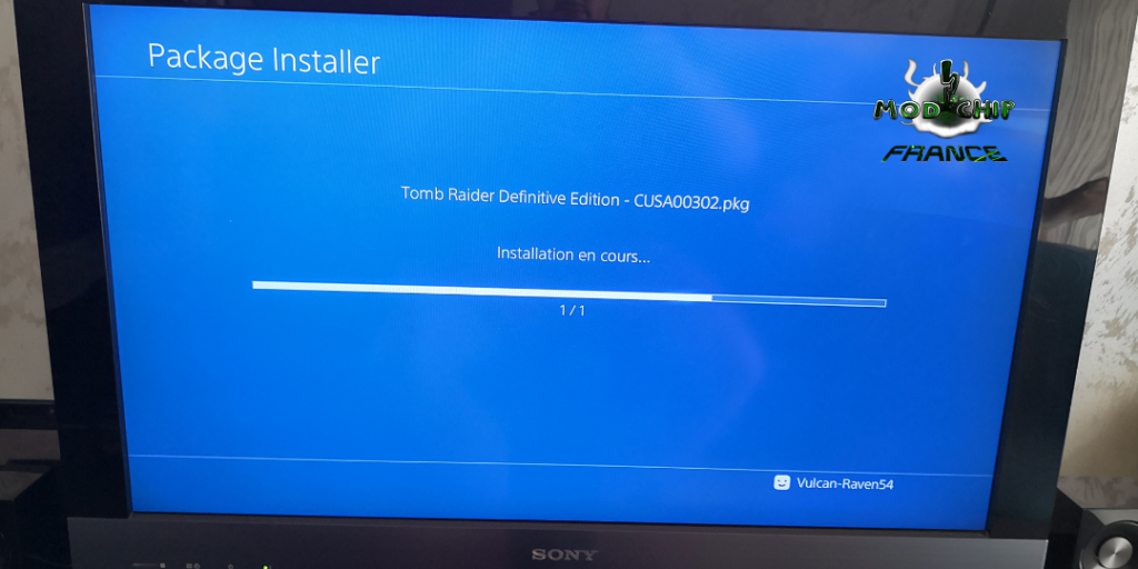 Loading Install Game PS4 hack 2