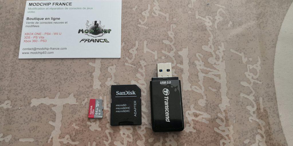 MicroSD stockage hack PS4